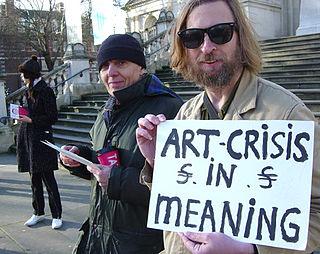 Stuckist demonstrations Art group activities
