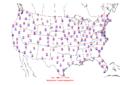 2006-03-05 Max-min Temperature Map NOAA.png