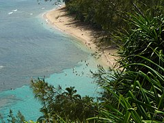2006-08-02 - Kee Beach from Kalalau Trail.jpg