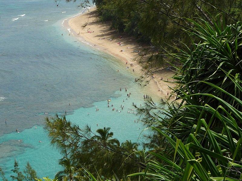 File:2006-08-02 - Kee Beach from Kalalau Trail.jpg