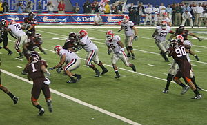 Georgia Bulldogs football - 2006 Chick-fil-A Bowl.