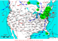 2009-05-29 Surface Weather Map NOAA.png