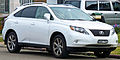 2009-2010 Lexus RX 350 (GGL15R) Sports Luxury wagon 03.jpg