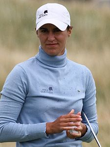 2009 Women's British Open - Tania Elosegui (1).jpg