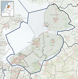 Biddinghuizen is located in Flevoland