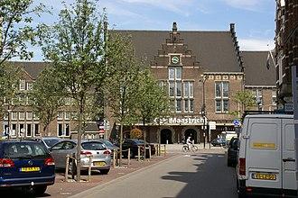 Wyck (Maastricht) - Image: 2010.07.20.154712 Bahnhof Stationsstraat Maastricht