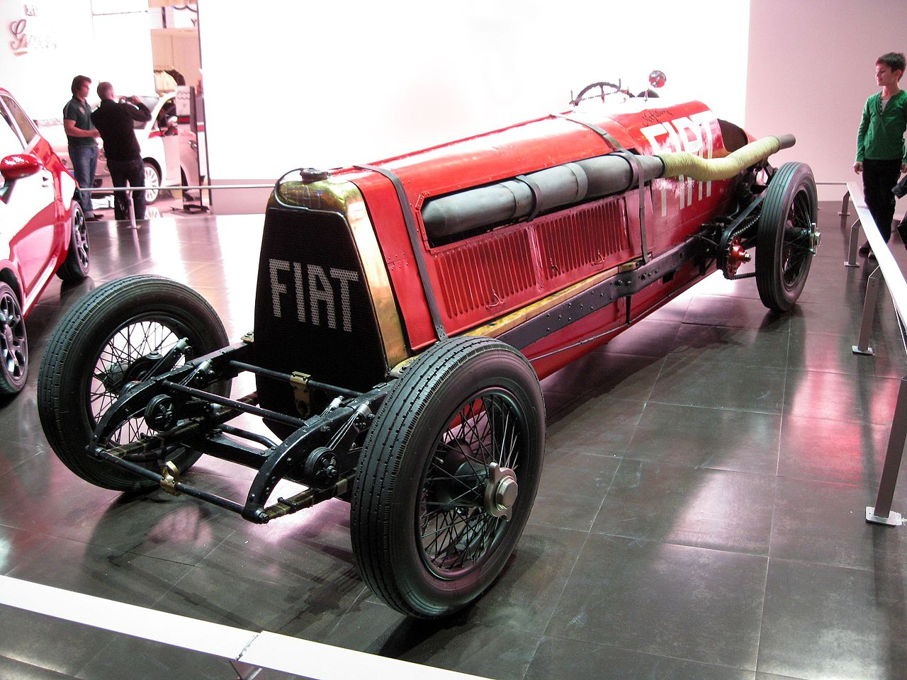 Der Fiat Mefistofele auf dem Genfer Auto-Salon 2011