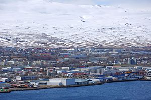 Akureyri - Image: 2014 04 30 14 09 41 Iceland Akureyri Akureyri