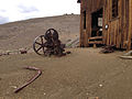 2014-07-28 13 30 11 Abandoned machinery at the machine shop in Berlin, Nevada at Berlin-Ichthyosaur State Park.JPG
