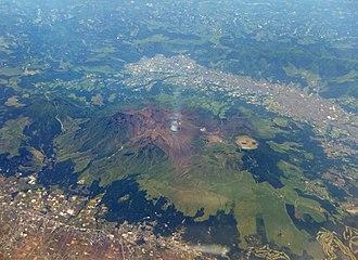Mount Aso - Central cone group of Aso caldera