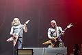 20140613-059-Nova Rock 2014-Slayer-Kerry King and Gary Wayne Holt.JPG