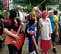 2014 Dragon Con Cosplay - Adventure Time group (15120749991).jpg