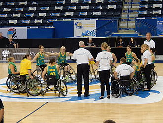 2014 Women's World Wheelchair Basketball Championship - Australian Gliders