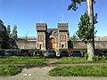 2015, Scheveningen Prison The Hague, old main gate (03).jpg