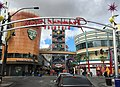 2015-11-04 11 29 02 View northwest along Fremont Street at the northwest end of the Fremont East District in downtown Las Vegas, Nevada.jpg