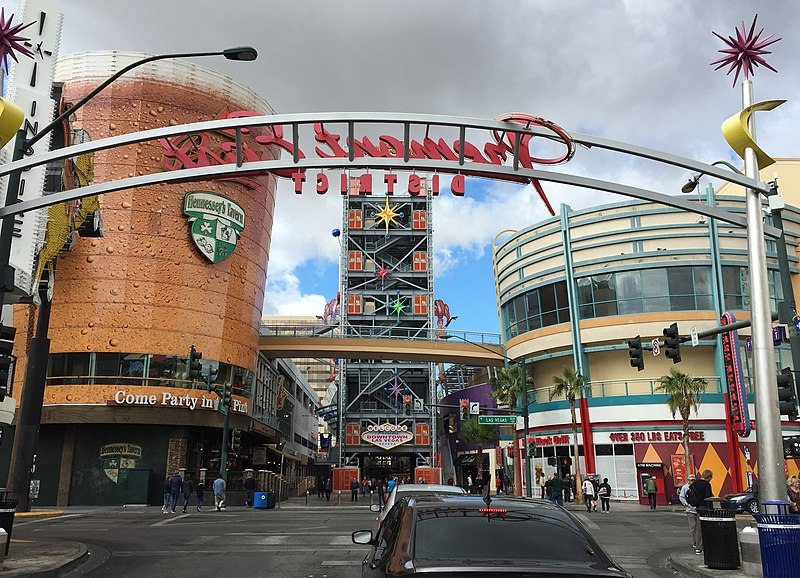 fremont east district in downtown las vegas wikipedia