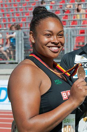 20150725 1622 DM Leichtathletik Frauen Diskuswurf 9542