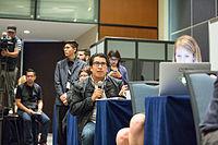 2015 Wikimania press conference-26.jpg