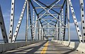 2016-07-22 11 02 23 View south along U.S. Route 301 (Governor Harry W. Nice Memorial Bridge) crossing the Potomac River from Charles County, Maryland to King George County, Virginia.jpg