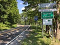 2017-07-21 17 39 14 View west along Virginia State Route 102-West Virginia State Route 102 as it crosses from Falls Mills, Tazewell County, Virginia into Nemours, Mercer County, West Virginia.jpg