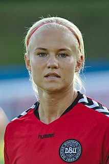 Pernille Harder (footballer) Danish footballer