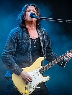 John Norum Norwegian-Swedish musician and guitarist of Europe