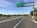 2018-05-21 09 14 30 View south along Interstate 95 (New Jersey Turnpike) at Exit 12 (Carteret, Rahway) in Carteret, Middlesex County, New Jersey.jpg