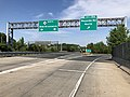 2018-05-26 09 34 18 View north along New Jersey State Route 18 at Exit 15A (Wayside Road NORTH) in Tinton Falls, Monmouth County, New Jersey.jpg