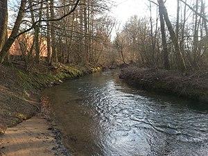 20180331 Schnaittach (Gewässer) in Neunkirchen am Sand Gemeindeteil Rollhofen.jpg