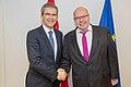 2018 Finanzminister Löger bei Eurogruppe und ECOFIN (24981277297).jpg