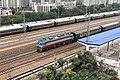 20201027 Train K818 Passing Zhongyuan Station.jpg