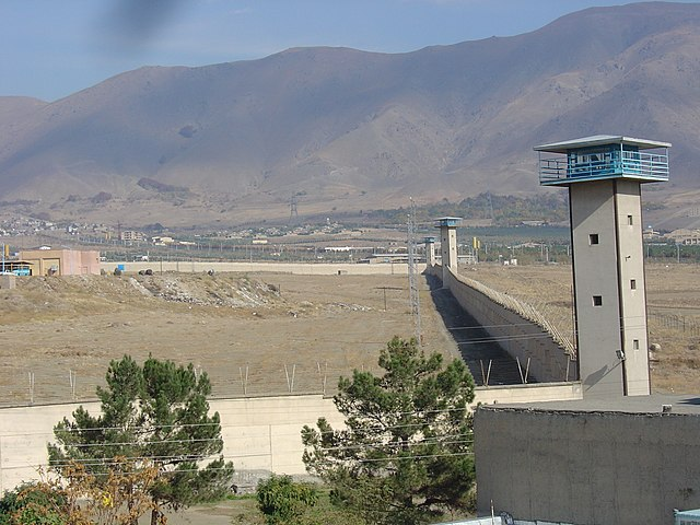 Gohardasht Prison By Ensie & Matthias [CC-BY-SA-2.0 (https://creativecommons.org/licenses/by-sa/2.0)], via Wikimedia Commons