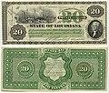 20 Dollars - State of Louisiana (05.06.1866) Banknotes.com - Obverse & Reverse.jpg