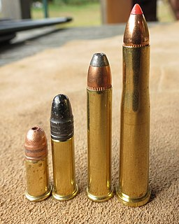 .22 Hornet centerfire rifle cartridge