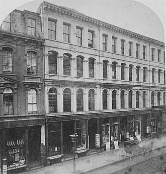 The Youth's Companion - Companion publishing office, Boston, c. 1870s