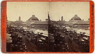 Quincy Market - Quincy Market, 19th century