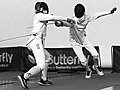 2nd Leonidas Pirgos Fencing Tournament. The counter-attack of the fencer Nikolaos Theodoropoulos.jpg