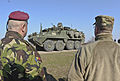 2nd Squadron, 2nd CR conducts a tactical road march during Operation Atlantic Resolve 150324-A-EM105-507.jpg