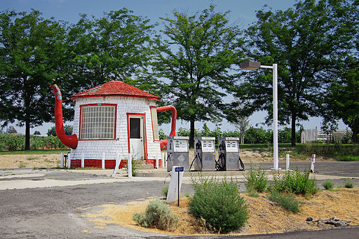 3. Teapot Dome Service Station