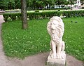 3005. Pavlovsk Park. Lion by the Italian staircase.jpg