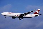 309aq - Swiss Airbus A330-223, HB-IQH@ZRH,22.07.2004 - Flickr - Aero Icarus.jpg