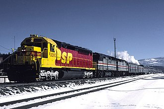 Santa Fe–Southern Pacific merger - Image: 3207 Truckee Jan 86 Flickr drewj 1946