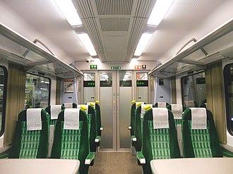 British Rail Class 350 - Image: 350243 First Class Internal