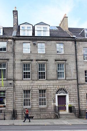 Henry Newton Dickson - 38 York Place, Edinburgh: the childhood home of H N Dickson