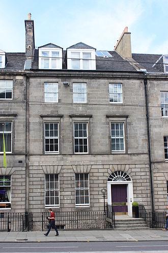 John Lizars - Lizars' house at 38 York Place, Edinburgh