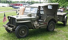 1942 Willys MB Slat Grille.