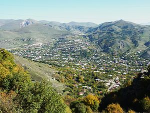 Goris - General view of Goris