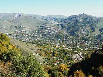 Goris - General view of Goris