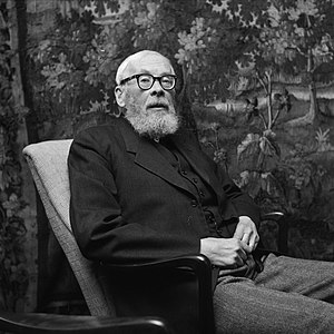 Werner Werenskiold - Werner Werenskiold in 1958