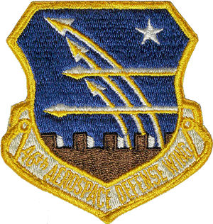 46th Test Wing - Patch with 46th Aerospace Defense Wing emblem